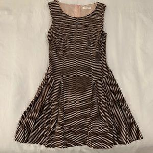 Pink & Black Polkadot Dress